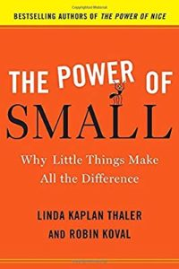 The Power of SMALL- Why Little Things Make All The Difference